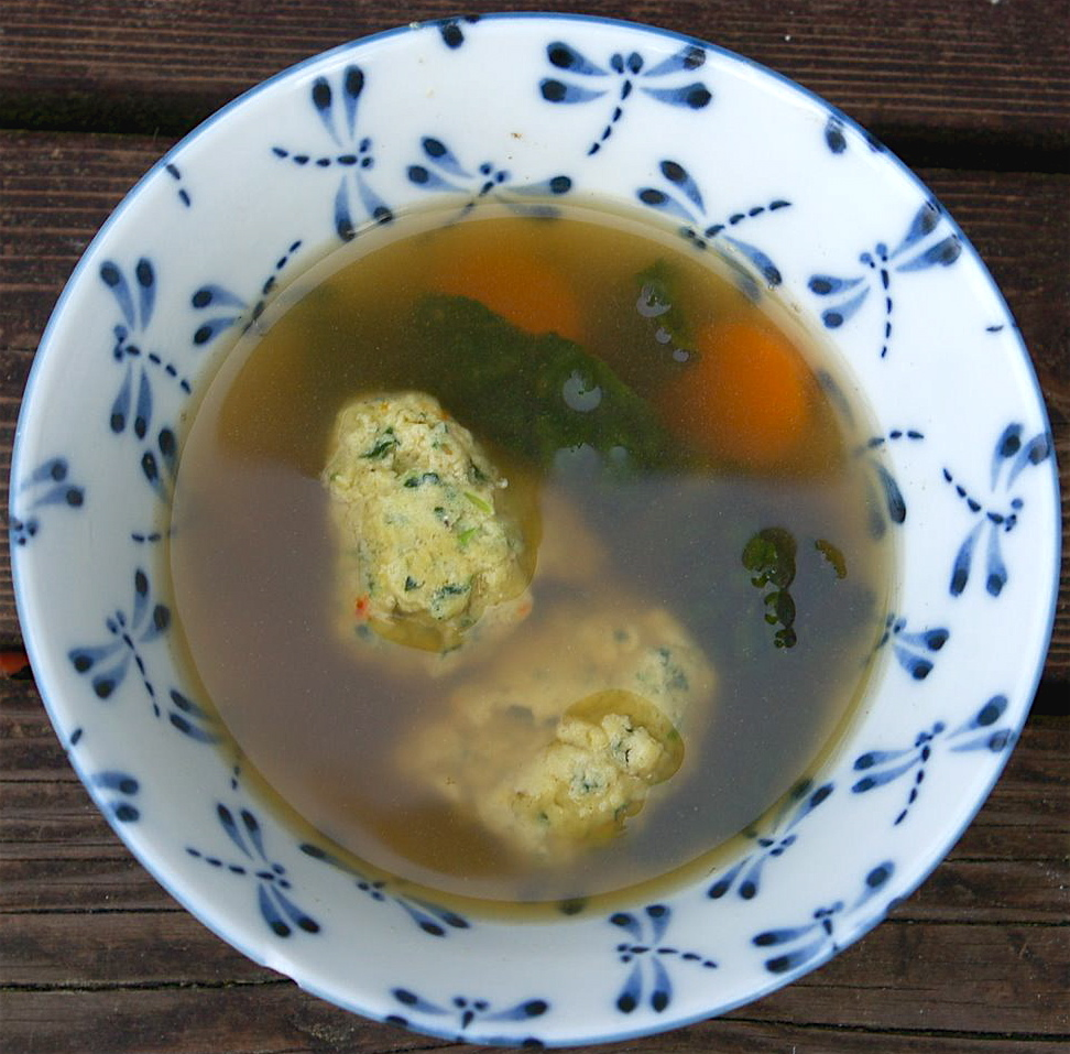 Vegetable Soup With Parmesan Dumplings Recipes — Dishmaps