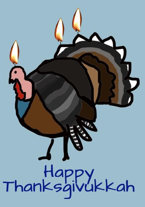 thanksgivukkah turkey