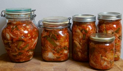 jars of kimchi 2